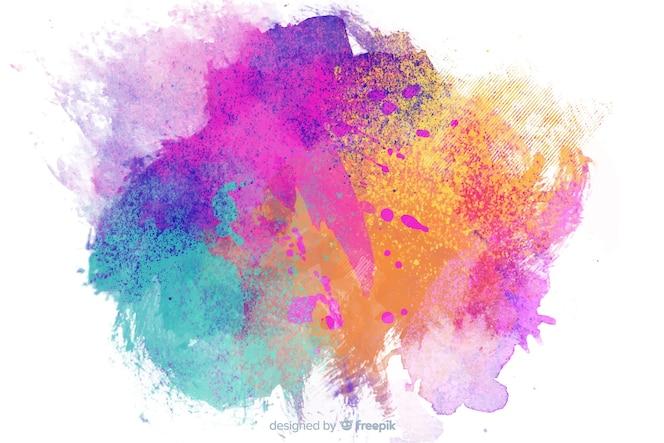 Kinderachtige stijlachtergrond met abstract thema
