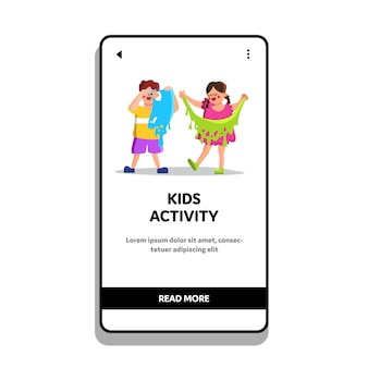 Kinderactiviteit en grappige vrije tijd