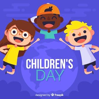 Kinderdag achtergrond