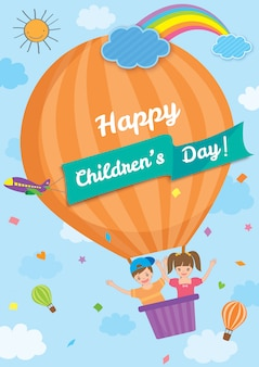 Kinderdag ballon tempel
