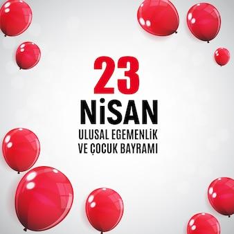Kinderdag turks spreek, nisan cumhuriyet bayrami.