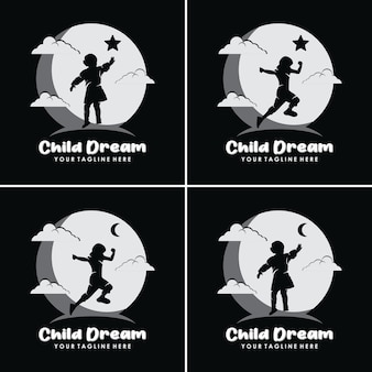 Kinderen dromen ervan om een ster en een maan te bereiken