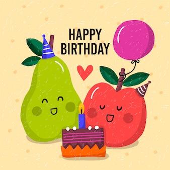 Kinderen gelukkige verjaardag concept