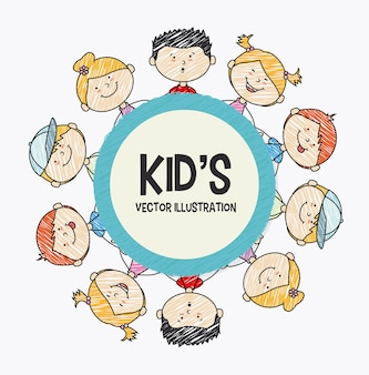 Kinderen ontwerp