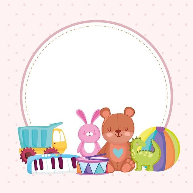 Kinderen speelgoed konijnenbal voor kinderen