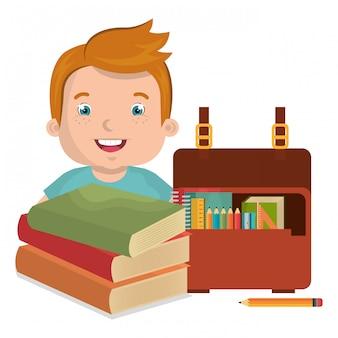 Kinderen studeren