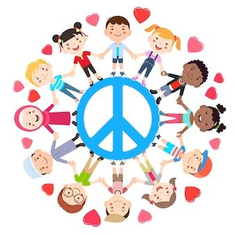 Kinderen zijn dol op conceptuele vrede