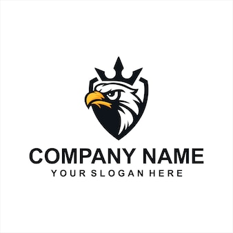 King eagle logo vector