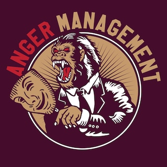 King kong gorilla anger management