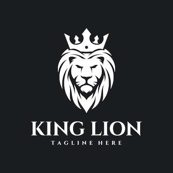King lion-logo