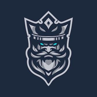King logo sjablonen