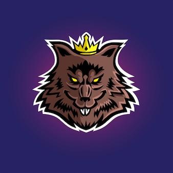 King rat esport gaming-logo