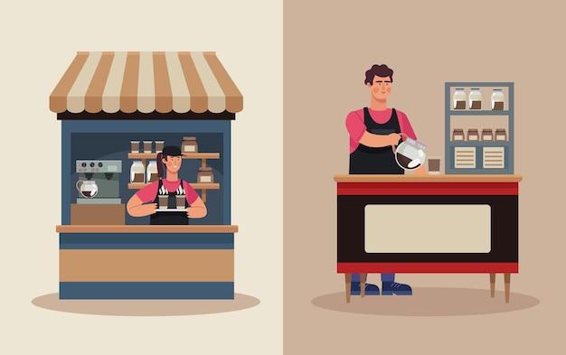 Kiosken in coffeeshops