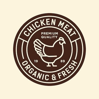 Kip vectorillustratie logo