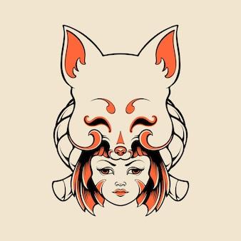 Kitsune meisje