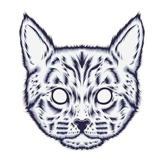 Kitten illustratie