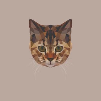 Kitten low poly