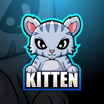 Kitten mascotte esport