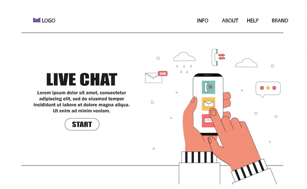Klantenservice en adviserende klanten - chat, callcenter, ondersteuning, feedback, assistentie.
