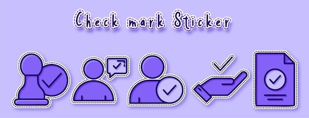 Klantrecensie sticker