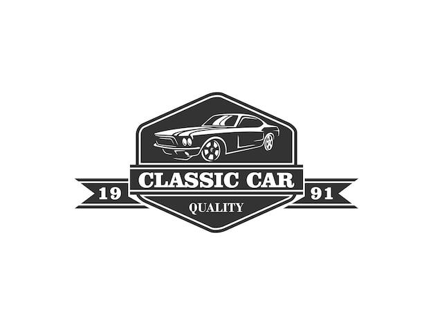 Klassiek auto-logo