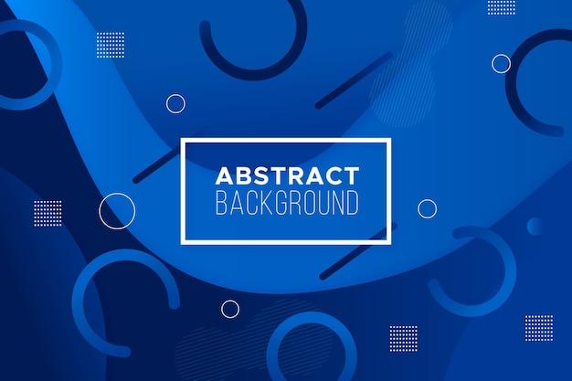 Klassiek blauw abstract ontwerp als achtergrond