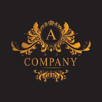 Klassiek luxe gouden logo