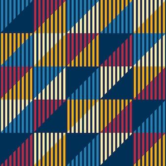 Klassiek mode abstract geometrisch naadloos patroon.
