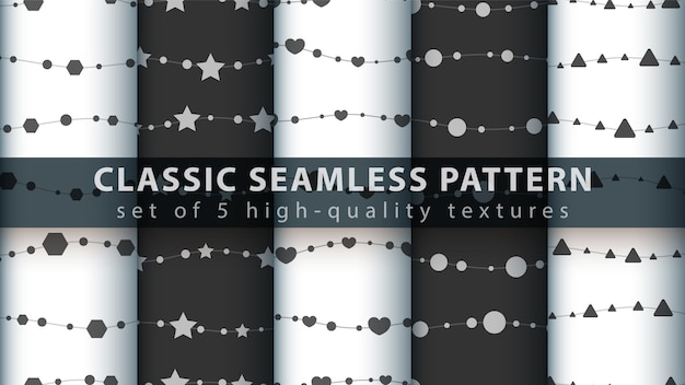 Klassiek naadloos patroon
