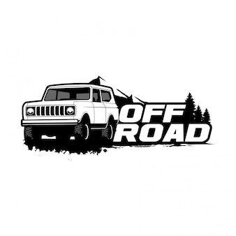 Klassiek off-road logo