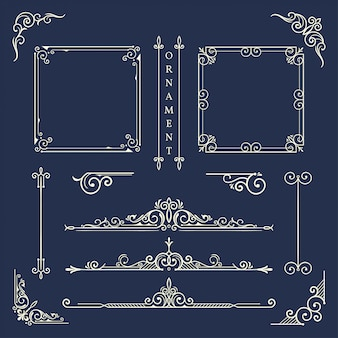 Klassiek ornamentframe