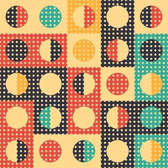 Klassiek stijl abstract geometrisch naadloos patroon.