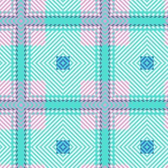 Klassiek tartan naadloos patroon. schotse geweven textuur.
