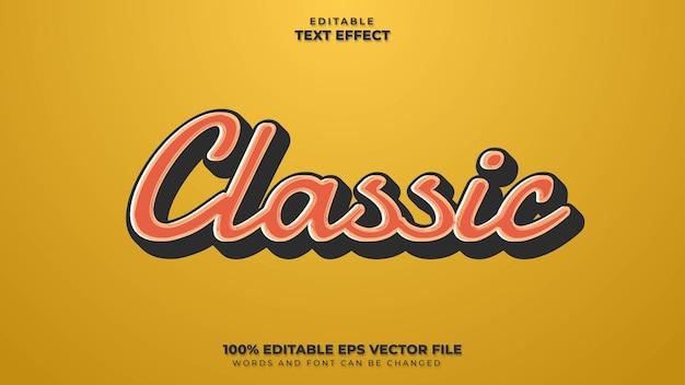 Klassiek teksteffect