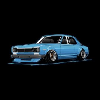 Klassieke auto vector