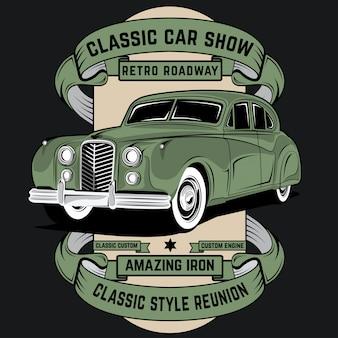 Klassieke autoshow