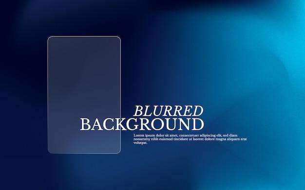 Klassieke blauwe onscherpe achtergrond