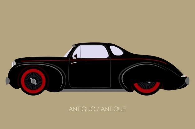 Klassieke coupéauto