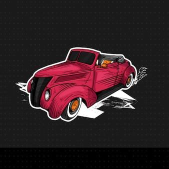 Klassieke ford cabriolet 29137
