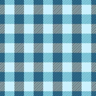 Klassieke geruit ruitpatroon en geruite plaid naadloze patronen.