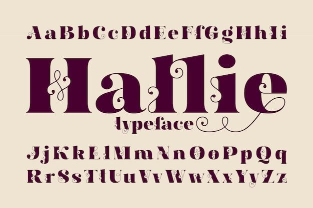 Klassieke lettertypeset