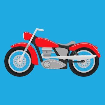 Klassieke motorfiets.
