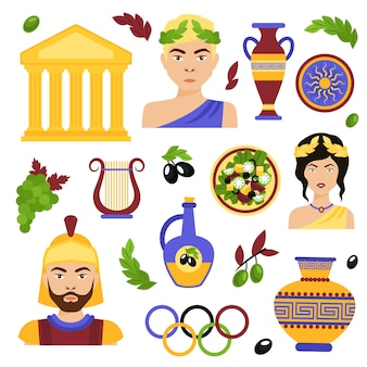 Klassieke personages ontwerp