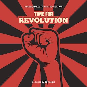 Klassieke revolutiesamenstelling met uitstekende stijl