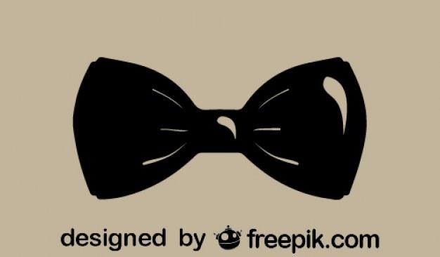 Klassieke stijl mode strikje icoon
