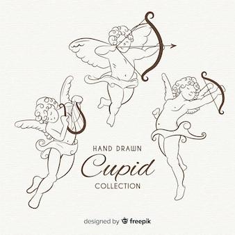 Klassieke valentijn cupido-collectie