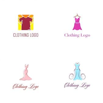 Kleding logo vector ontwerpsjabloon