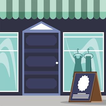 Klein bedrijf of winkel