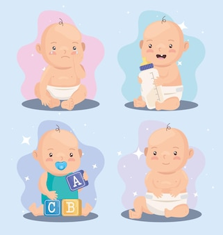 Kleine babyjongens