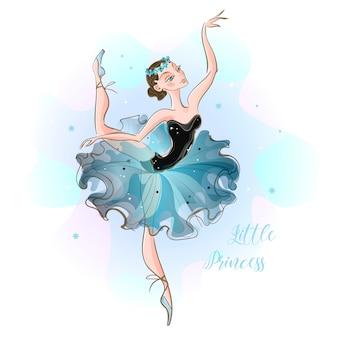 Kleine ballerina.